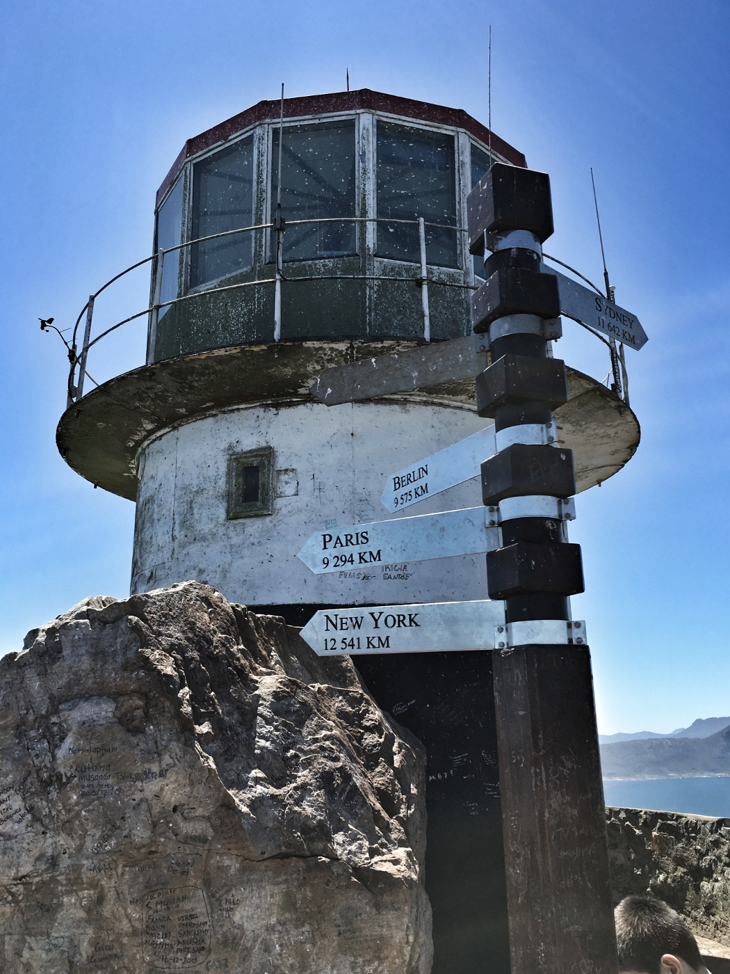 Lighthouse at the Cape of good hope