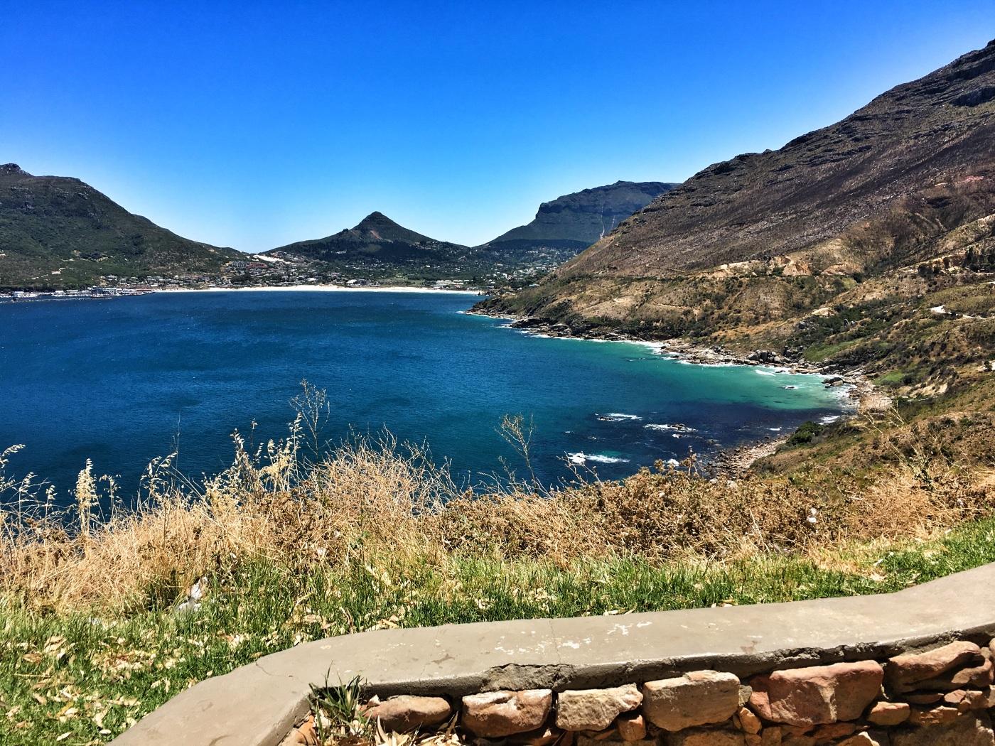 Chapman's peak in Cape Town